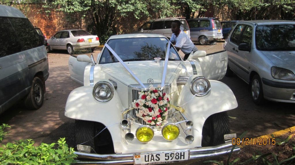 wedding car vintage